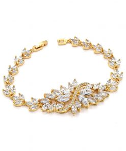 bracelet mariage or