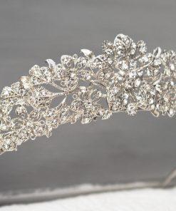Serre-tete-Diademe-Princesse-en-Strass-pour-Mariage