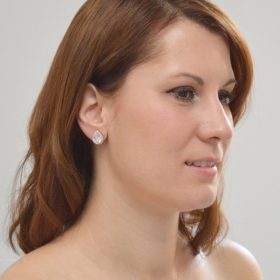 boucles d'oreilles mariage or rose 03