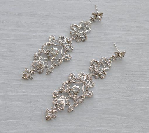 boucles d'oreilles mariage princesse 3