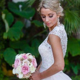 boucles d'oreilles mariage princesse 4