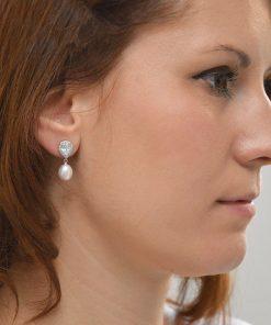 boucles d'oreilles perles naturelles cristal 02