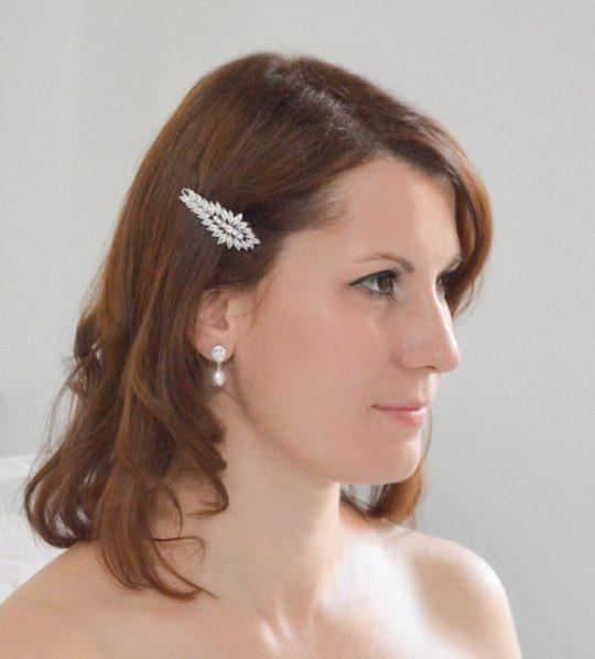 boucles d'oreilles perles naturelles cristal 03