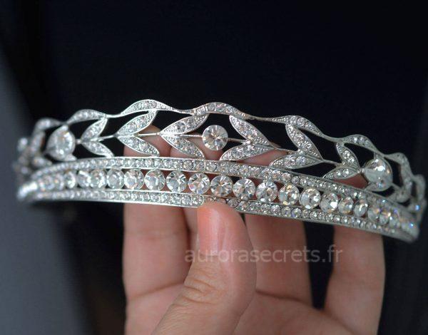 diadème mariage cristaux swarovski 2