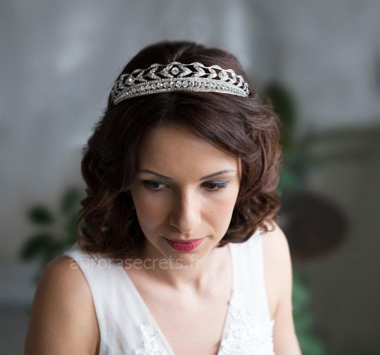 diadème mariage cristaux swarovski 3