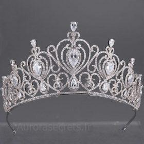 diadème mariage oriental ornée de faux diamants 6