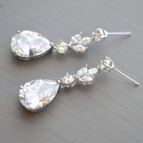 boucle oreille mariage cristal 4