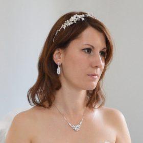boucles d'oreille mariage strass 4