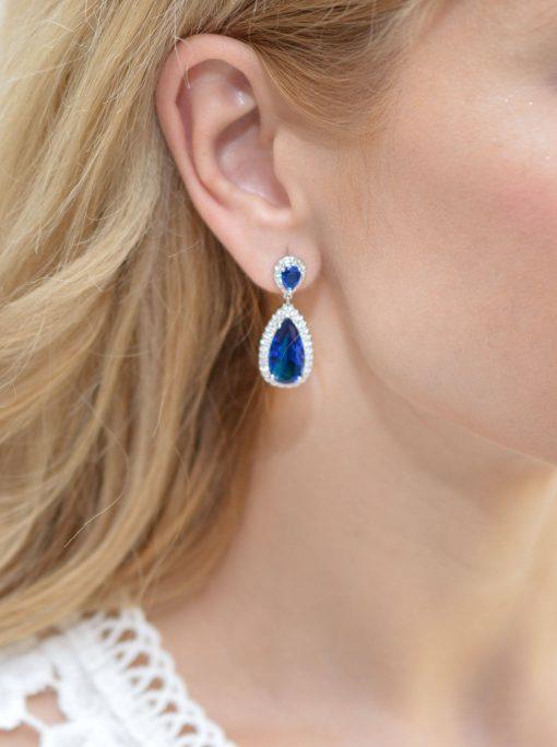 boucles-oreille mariage bleu chic 1