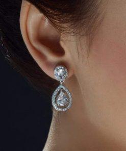 boucles d'oreille mariage kate middleton
