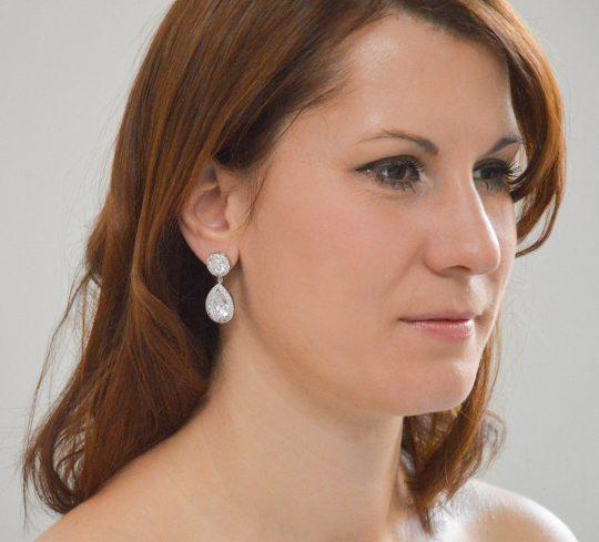boucles oreilles classiques diamant 2