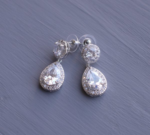 boucles oreilles classiques diamant 3