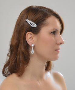 boucles d'oreilles chandelier diamant 3