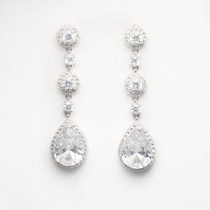 boucles-oreilles mariage-faux-diamants