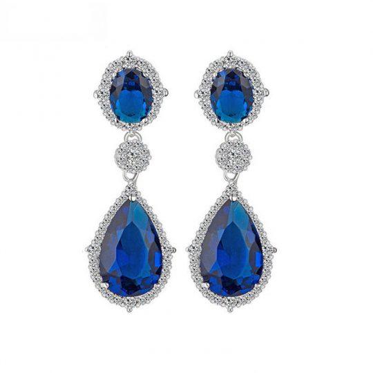boucles oreilles mariage cristal swarovski elegantes 2