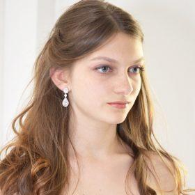 boucles oreilles mariage cristal swarovski elegantes 4