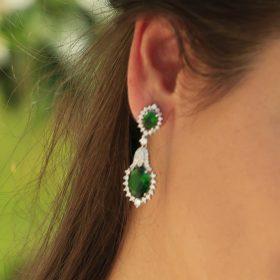 boucles-oreilles-mariage-vintage-vertes-daniela