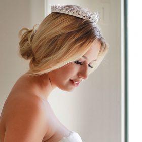 Couronne princesse mariage en cristal Swarovski Victoria