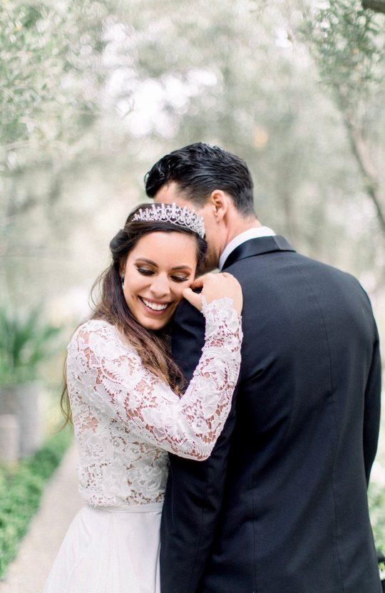 Diadème tiare mariage zircon 9