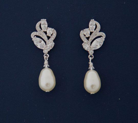 boucles perles parure mariage