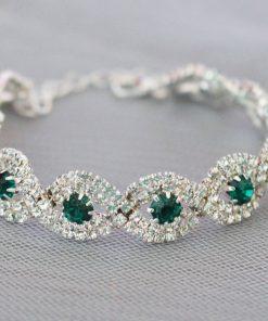 bracelet mariee vintage strass 3