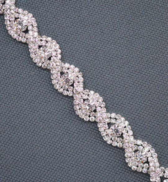 bracelet mariee vintage strass alicia