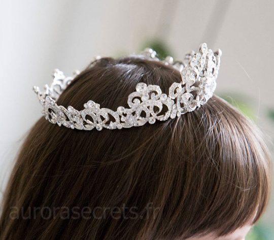 couronne cristal swarovski