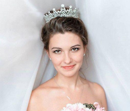 couronne royale de mariée