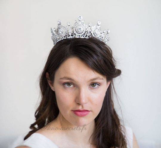 couronne mariage princesse cristal swarovski 2