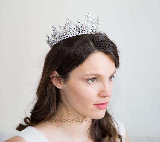 couronne mariage princesse cristal swarovski 5