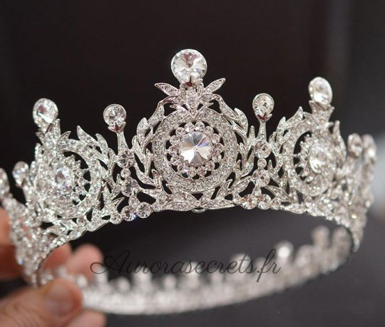 couronne mariage princesse cristal swarovski
