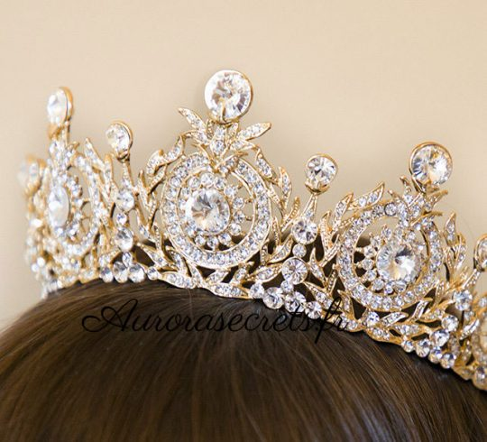 couronne mariage princesse cristal swarovski 3