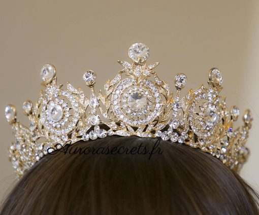 couronne mariage princesse cristal swarovski 4