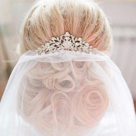 peigne chignon mariage