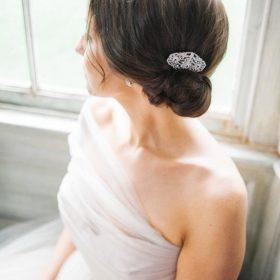 peigne cheveux rétro mariage 3