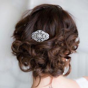 peigne cheveux retro mariage