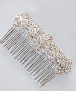 peigne coiffure mariage art deco cristal 3