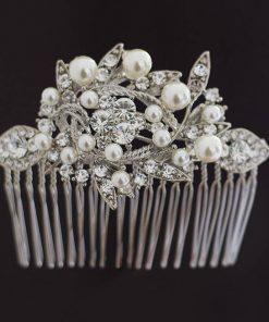 peigne mariée perles cristal