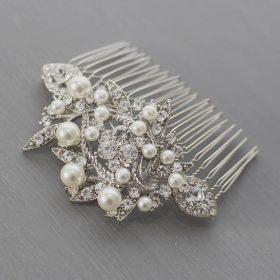 peigne mariée perles cristal 4