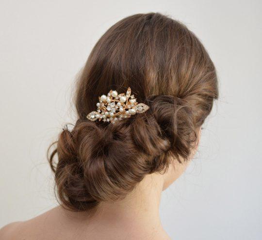 peigne mariée perles cristal 3