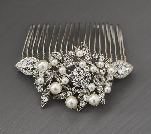 peigne mariée perles cristal 2