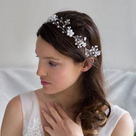 vigne cheveux couronne mariage 2
