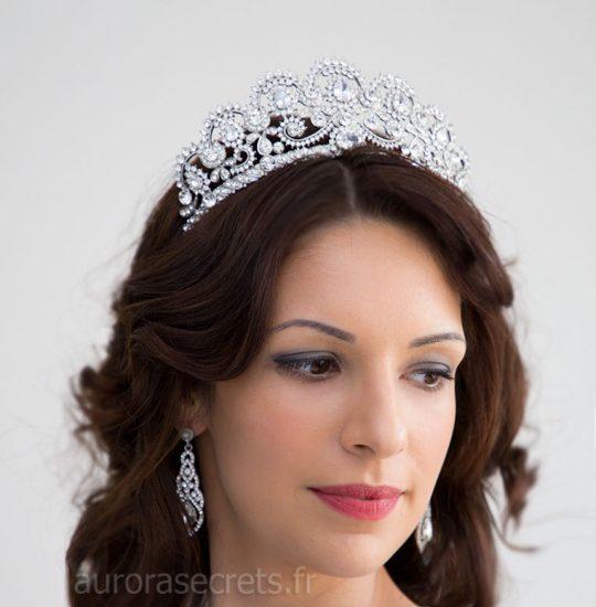 Diadème de mariage, couronne royale