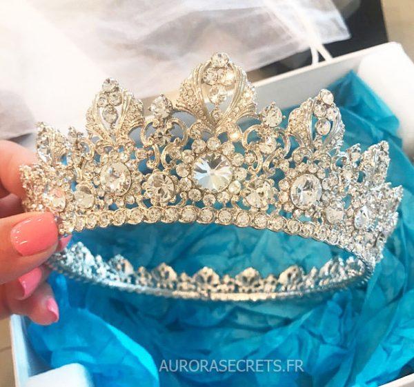 couronne mariage swarovski diademe royale 7