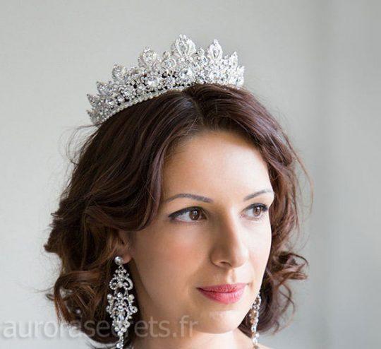 couronne mariage swarovski diademe royale 4