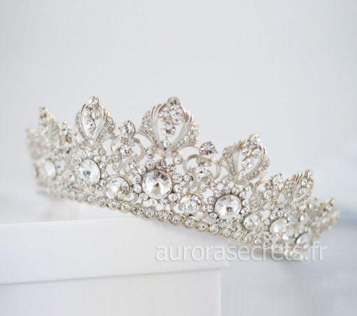 couronne mariage swarovski diademe royale