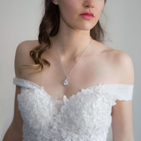 Collier cristal mariage