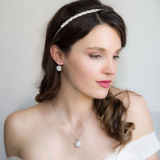 Serre-tête mariage Cristal Swarovski