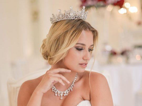 couronne mariage Swarovski