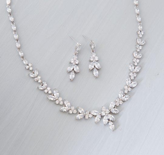 parure bijoux mariage zircon 2